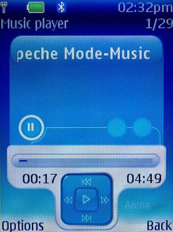 Music Player, Equalizer, FM Radio - Nokia 6300 Review