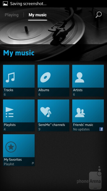 The WALKMAN-branded music player - Sony Xperia SL Review