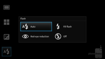 Camera interface - Sony Xperia SL Review