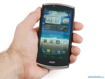 The Acer CloudMobile is a pleasure to both hold and look at - Acer CloudMobile Review