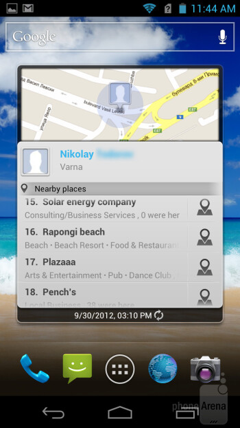The Acer CloudMobile runs a slightly customized version of Android 4.0 Ice Cream Sandwich - Acer CloudMobile Review