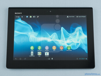 The build quality of the Sony Xperia Tablet S feels rather sturdy - Sony Xperia Tablet S Review