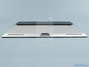 The proprietary connector is at the bottom - Sony Xperia Tablet S Review