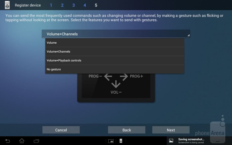 The universal Remote Control application allows you to control multiple devices with only your tablet - Sony Xperia Tablet S Review