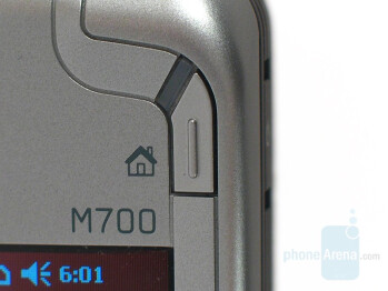 M-Desk shortcut button - Eten Glofiish M700 Review