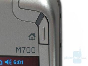 M-Desk shortcut button - Eten Glofiish M700 Review