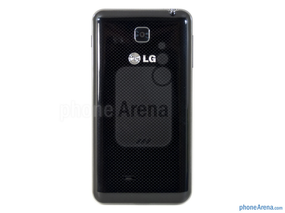The LG Escape employs thedistinctelements of LG's recent smartphone designs - LG Escape Review