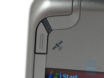 GPS shortcut button - Eten Glofiish M700 Review