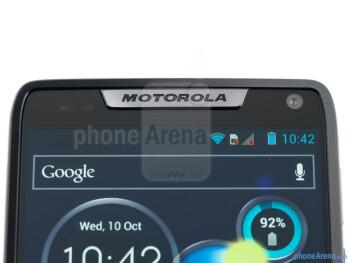 The front facing camera - Motorola RAZR i Review