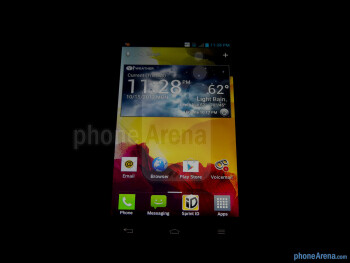 Viewing angles - LG Optimus G (AT&T & Sprint) Review