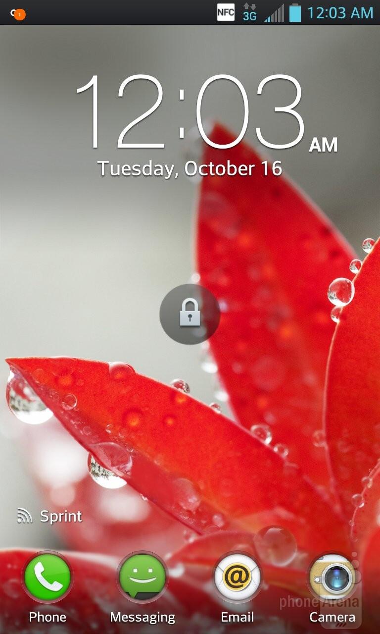 The UI of the LG Optimus G - LG Optimus G vs HTC One X