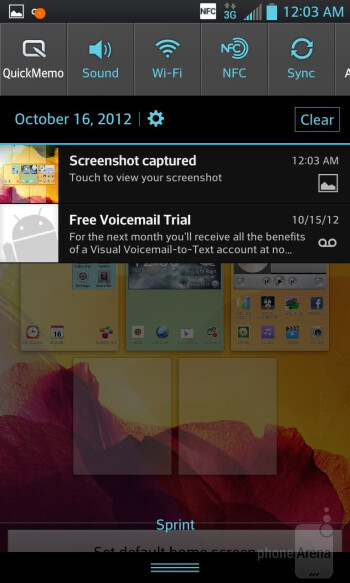 Homescreens - LG Optimus G (AT&T & Sprint) Review