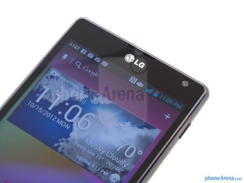 Front camera - LG Optimus G AT&T - LG Optimus G (AT&T & Sprint) Review