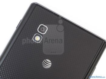 Rear camera - LG Optimus G AT&T - LG Optimus G (AT&T & Sprint) Review