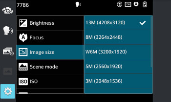 The camera interface - LG Optimus G (AT&T & Sprint) Review