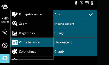 Camera interface of the the LG Optimus G - LG Optimus G vs Samsung Galaxy S III