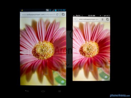 LG Optimus G vs Apple iPhone 5