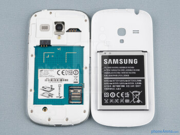 Battery compartment - Samsung Galaxy S III mini Review