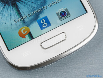 Android buttons - Samsung Galaxy S III mini Review