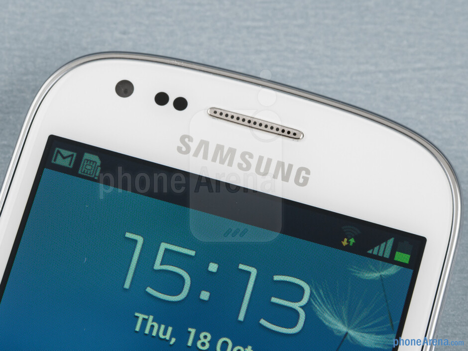 Front camera - Samsung Galaxy S III mini Review