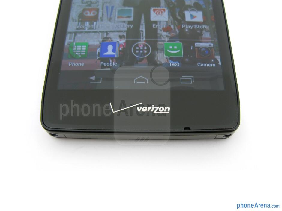 On-screen buttons - Motorola DROID RAZR HD Review