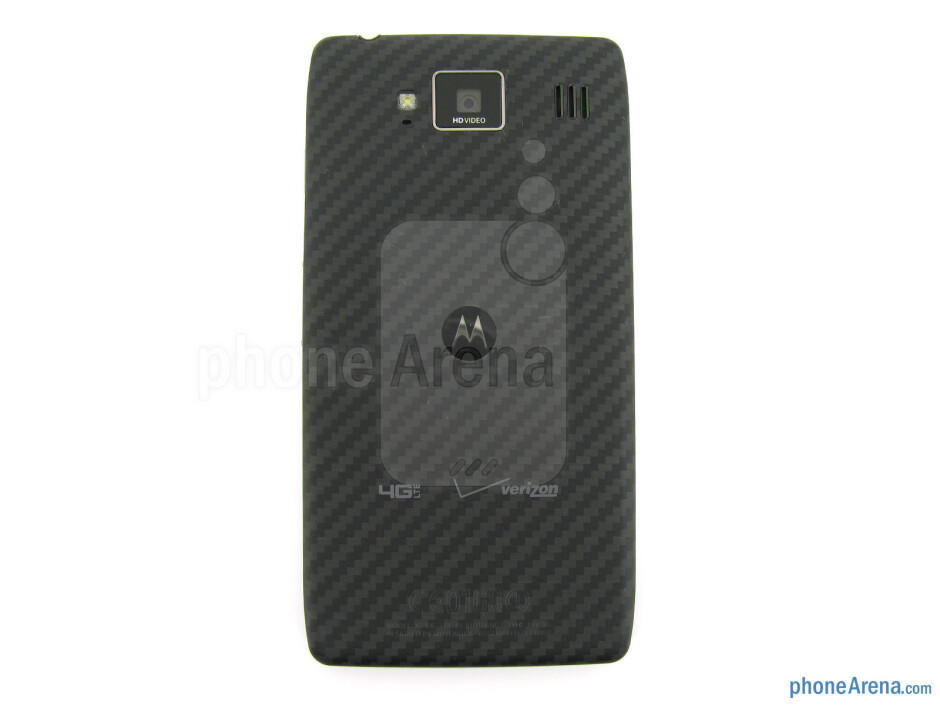 Back - The sides of the Motorola DROID RAZR HD - Motorola DROID RAZR HD Review