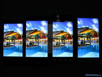Viewing angles - Motorola DROID RAZR HD Review