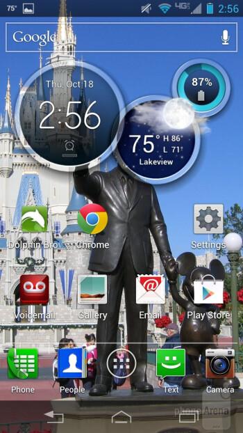 The Motorola DROID RAZR HD has Android 4.0.4 Ice Cream Sandwich - Motorola DROID RAZR HD Review