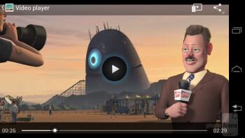 Video playback - Motorola DROID RAZR HD Review