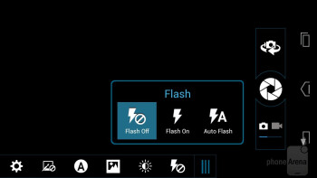Camera interface - Motorola DROID RAZR HD Review