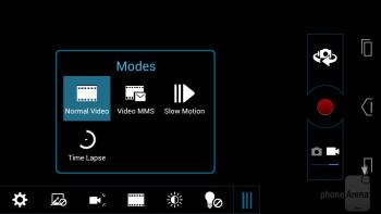 Camera interface - Motorola DROID RAZR HD Review