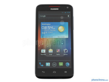 The chassis of the Huawei Ascend D quad XL doesn't include premium or exclusive materials - Huawei Ascend D quad XL Review