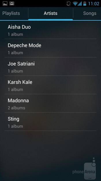Music+ plus app - Huawei Ascend D quad XL Review