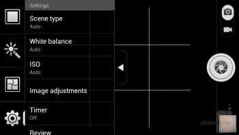 Camera interface - Huawei Ascend D quad XL Review