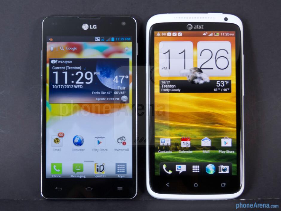 LG Optimus G vs HTC One X