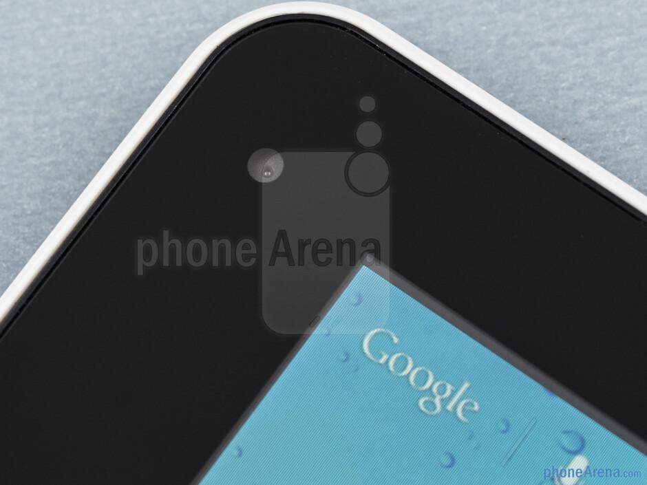 Front camera - Huawei MediaPad 7 Lite Review