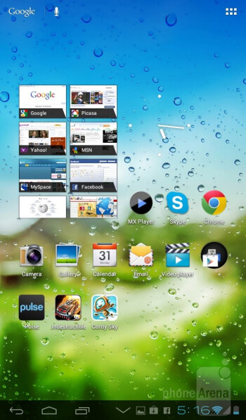 The Huawei MediaPad 7 Lite runs Android 4.0 Ice Cream Sandwich - Huawei MediaPad 7 Lite Review