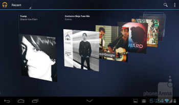 Music player - Huawei MediaPad 7 Lite Review
