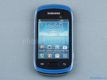 Front - Samsung Galaxy Music Review