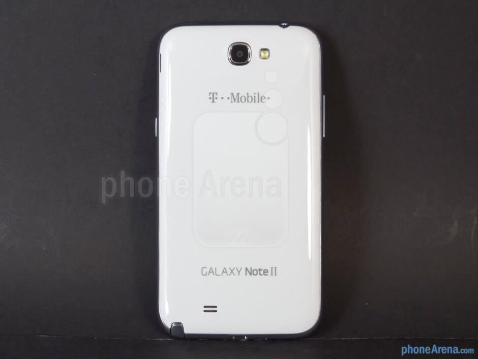 Back - Samsung Galaxy Note II Review (AT&T, Verizon, T-Mobile, Sprint)