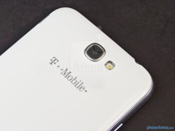 Rear camera - Samsung Galaxy Note II Review (AT&T, Verizon, T-Mobile, Sprint)