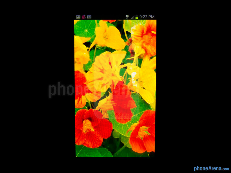 Color production - Samsung Galaxy Note II Review (AT&T, Verizon, T-Mobile, Sprint)