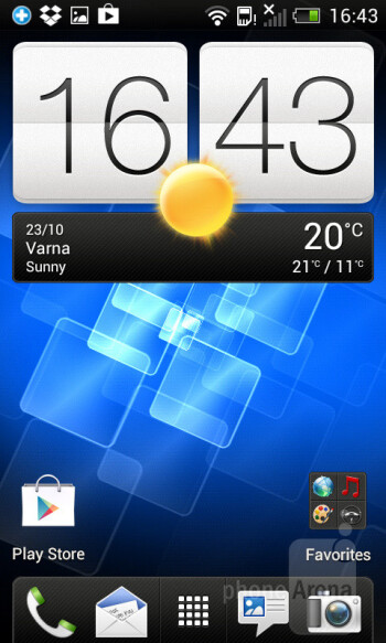 The HTC Sense 4.0 UI - HTC Desire X Review