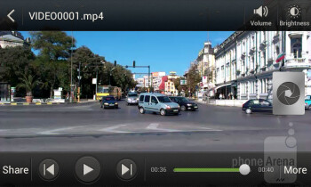 The device can play MPEG4 or DivX videos - HTC Desire X Review