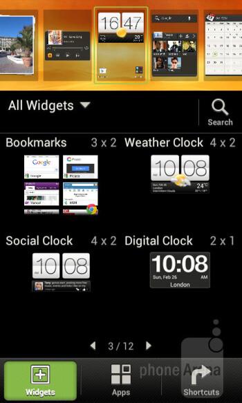 The HTC Sense 4.0 UI - HTC Desire X Review
