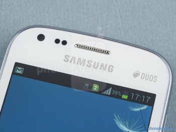 Front camera - Samsung Galaxy S Duos Review