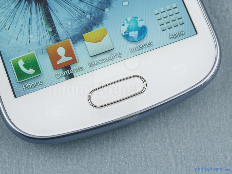 Android buttons - Samsung Galaxy S Duos Review