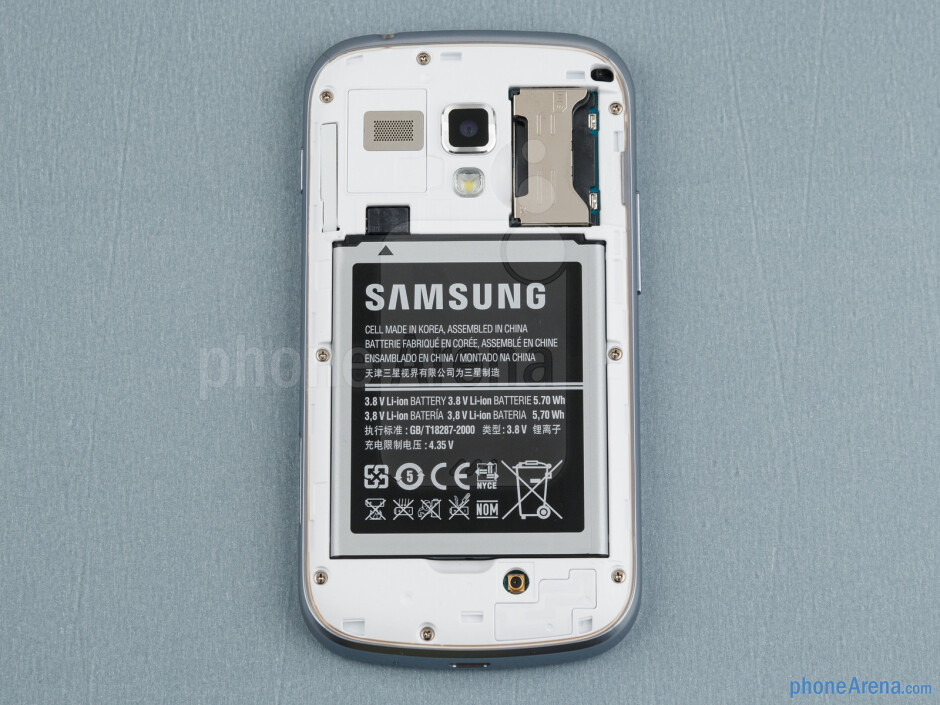 The sides of the Samsung Galaxy S Duos - Samsung Galaxy S Duos Review