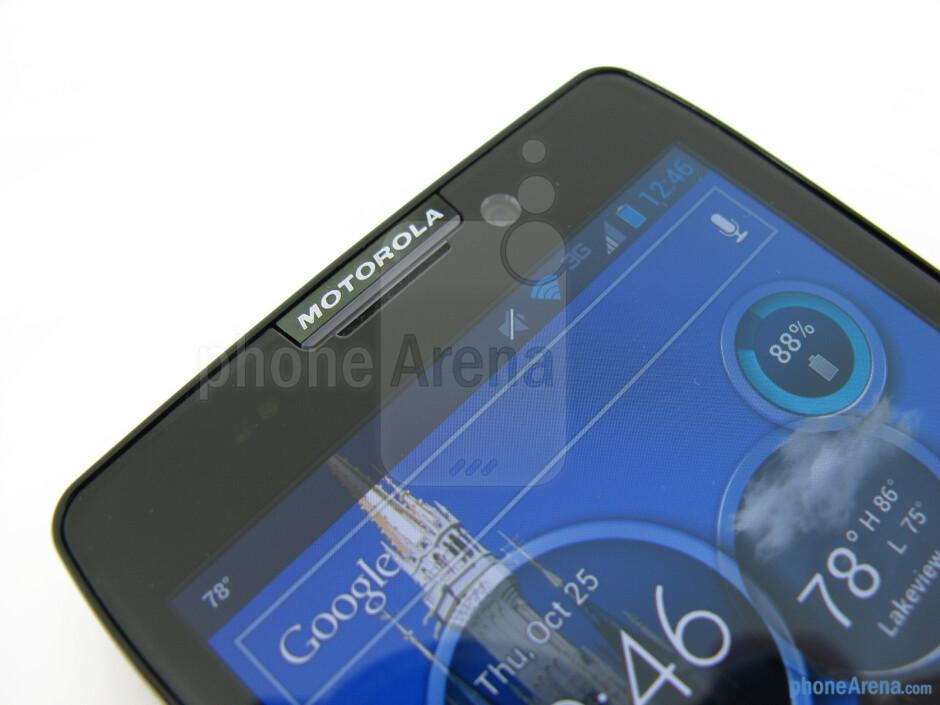Front camera - Motorola DROID RAZR MAXX HD Review
