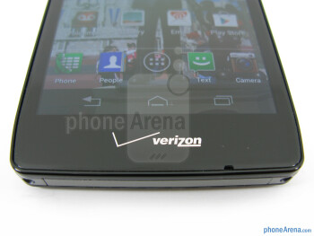 Android buttons - Motorola DROID RAZR MAXX HD Review